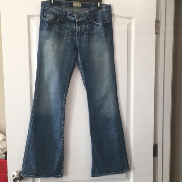 Bke women's 29R stretch jeans mystic 20